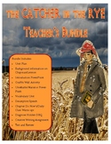The Catcher in the Rye Unit Plan and Activities - Teacher's Bundle