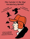 The Catcher in the Rye Vocabulary Bundle