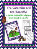 The Caterpillar and Butterfly: a packet to support the e and i sounds of vowel y