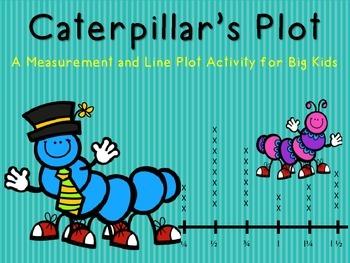 The Caterpillar's Line Plot: A Measurement and Line Plot Activity for Big Kids