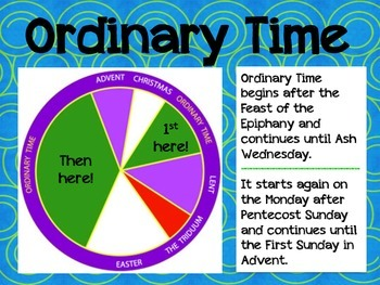 The Catholic Liturgical Season of Ordinary Time