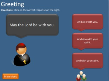 The Catholic Mass PowerPoint Game