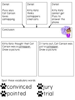 The Catnapper Guided Notes: Journeys 3rd grade