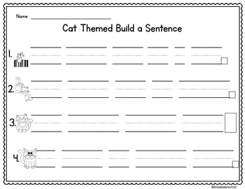 The Cat's Pajamas: Literacy and Math Center Activities