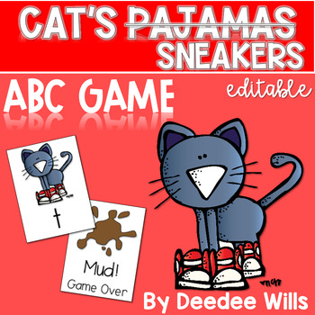 The Cat's Pajamas Memory and ABC Game-Editable