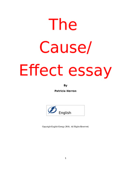 The Cause and Effect Essay