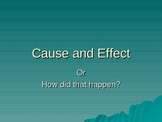 The Cause and Effect PowerPoint