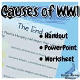 The Causes of WW1 Australian Year 9 and 10 PowerPoint, Han