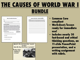 The Causes of World War I Bundle - Global/World History Common Core