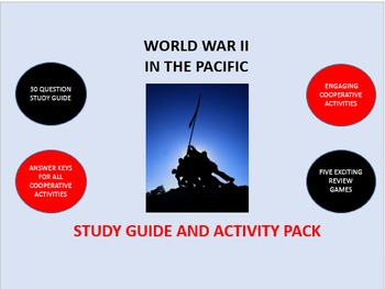 World War II in the Pacific: Study Guide and Activity Pack