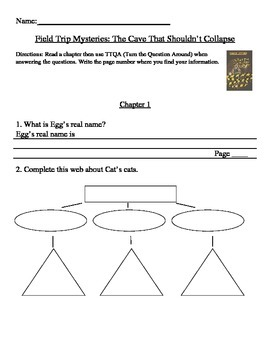 The Cave That Shouldn't Collapse Comprehension Packet TTQA