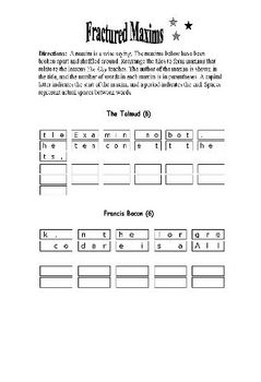 The Cay: 36 PAGES OF WORD PUZZLES—Fun and Educational!
