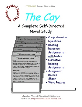The Cay: A Complete Novel Study