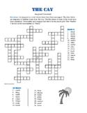 The Cay: Anagram Crossword Puzzle—Unique Spelling Challenge!