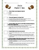 The Cay - Ch. 2 Quiz w/ Answer Key (Editable)