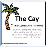 The Cay - Characterization Timeline