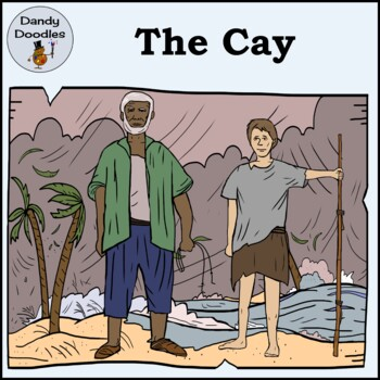 The Cay Clip Art by Dandy Doodles