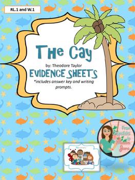 The Cay - Evidence Sheets