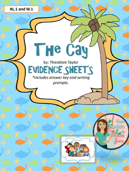 The Cay - Evidence Sheets