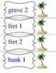 The Cay Multiple Meaning Vocabulary Game
