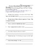 The Cay - Assignments/Activities