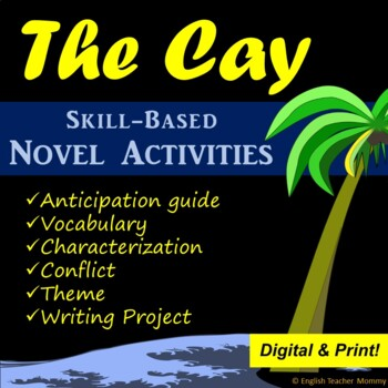 The Cay Novel Study Activities