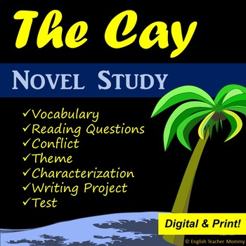 The Cay Novel Unit Bundle - Distance Learning