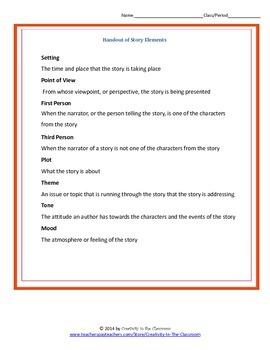 The Cay Novel Unit Plus Grammar