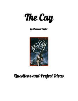 The Cay Questions and Project Ideas