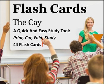The Cay Study Flash Cards