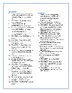 The Cay: Synonym/Antonym Vocabulary Crossword--Use with Bo