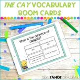 The Cay Vocabulary Boom Cards
