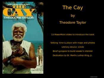 The Cay intro PowerPoint slide show