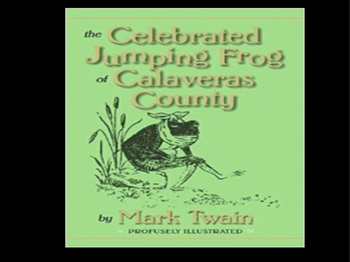 The Celebrated Frog of Calaveras County Easy Reading PowerPoint