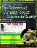 THE CELEBRATED JUMPING FROG OF CALAVERAS COUNTY READING FLIP BOOK AND QUIZ
