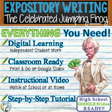 The Celebrated Jumping Frog of Calaveras County Text Evidence Expository Writing