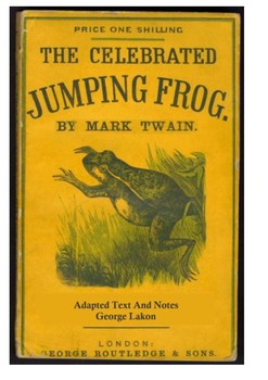 The Celebrated Jumping Frog of Calaveras County Word Search