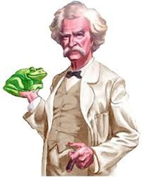 The Celebrated Jumping Frog of Calaveras County by Mark Twain Crossword Puzzle