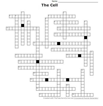 The Cell Crossword Puzzle