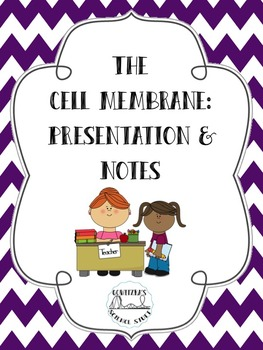 The Cell Membrane: Presentation and Notes