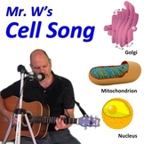 The Cell Song (Mr. W's Cell Parts Music Video)