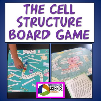 6th Grade NGSS The Cell Structure Board Game