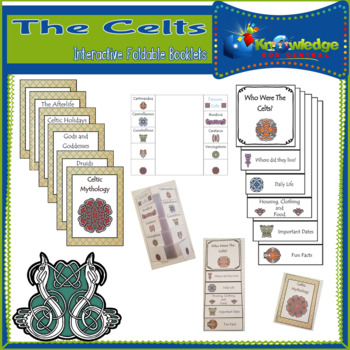 The Celts Interactive Foldable Booklets