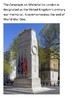 The Cenotaph - Whitehall Remembrance Day Word Search