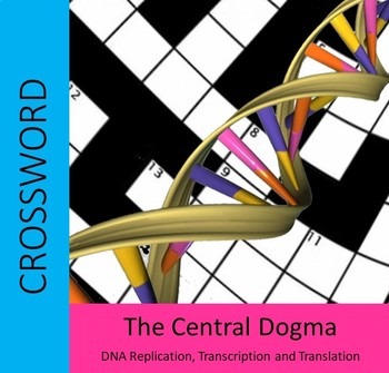 The Central Dogma Crossword - DNA Replication, Transcription and Translation