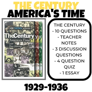 The Century: America's TIme - 1929-1936: Stormy Weather