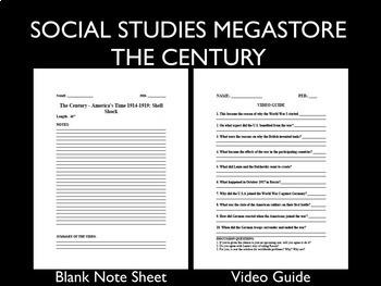The Century America's Time 1914-1919 Shellshock Video Guide