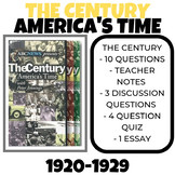 The Century America's Time 1920-1929 Boom to Bust Video Guide