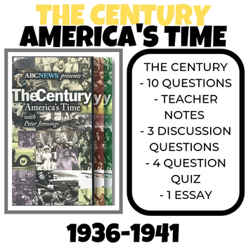 The Century America's Time 1936-1941 Over the Edge Video Guide