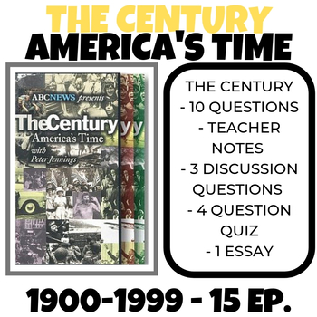 The Century: America's Time Bundle  - 1900-1999 (15 episodes)
